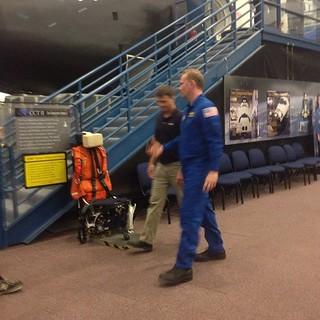 We saw Morgan Spurlock at NASA