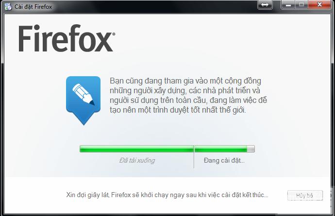 huong dan cai dat firefox tieng viet 5 Hướng dẫn cài đặt Firefox tiếng Việt