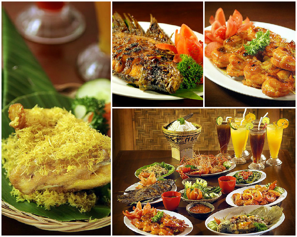 mang engking food collage