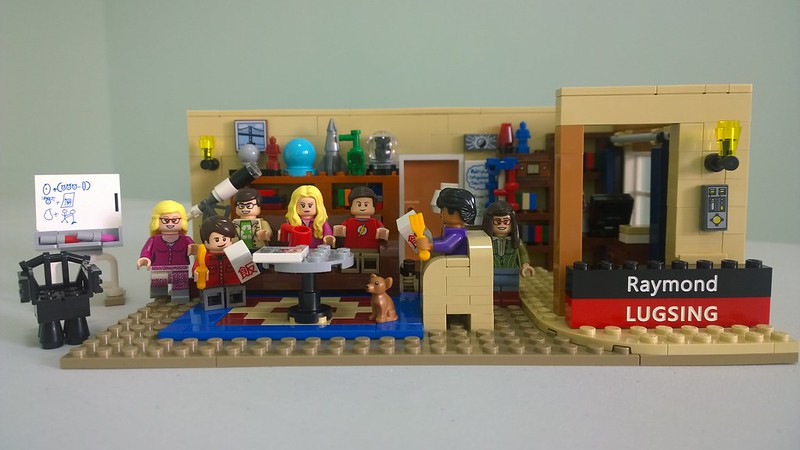 Review : #010 LEGO IDEAS - 21302 The Big Bang Theory 19012870643_f8a6ae9b4a_c