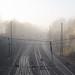 Misty rail track