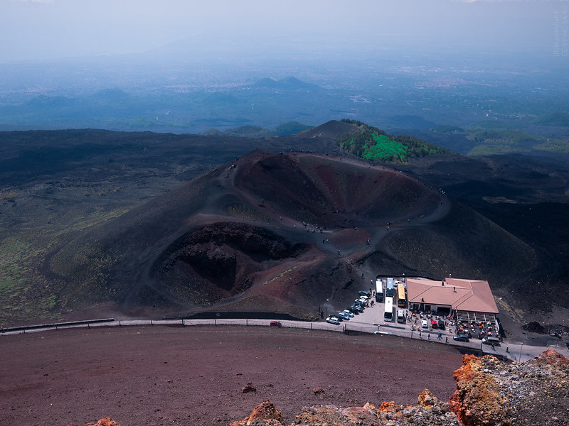 Mount Etna, Sapienza Refuge