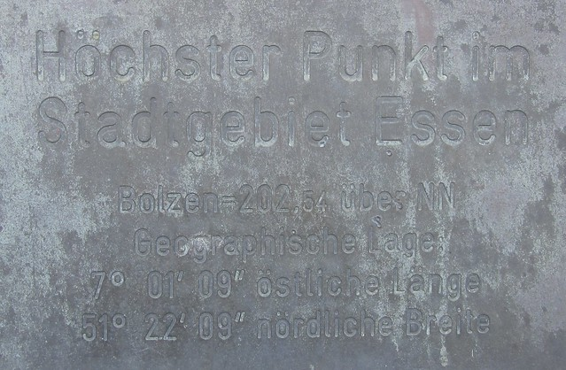 Höchster Punkt im Stadtgebiet Essen