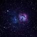Trifid Nebula by Jeff D. Muth