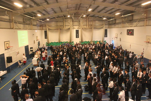 150715 - Mass and Visit to St. Columba's School - Bexleyheath