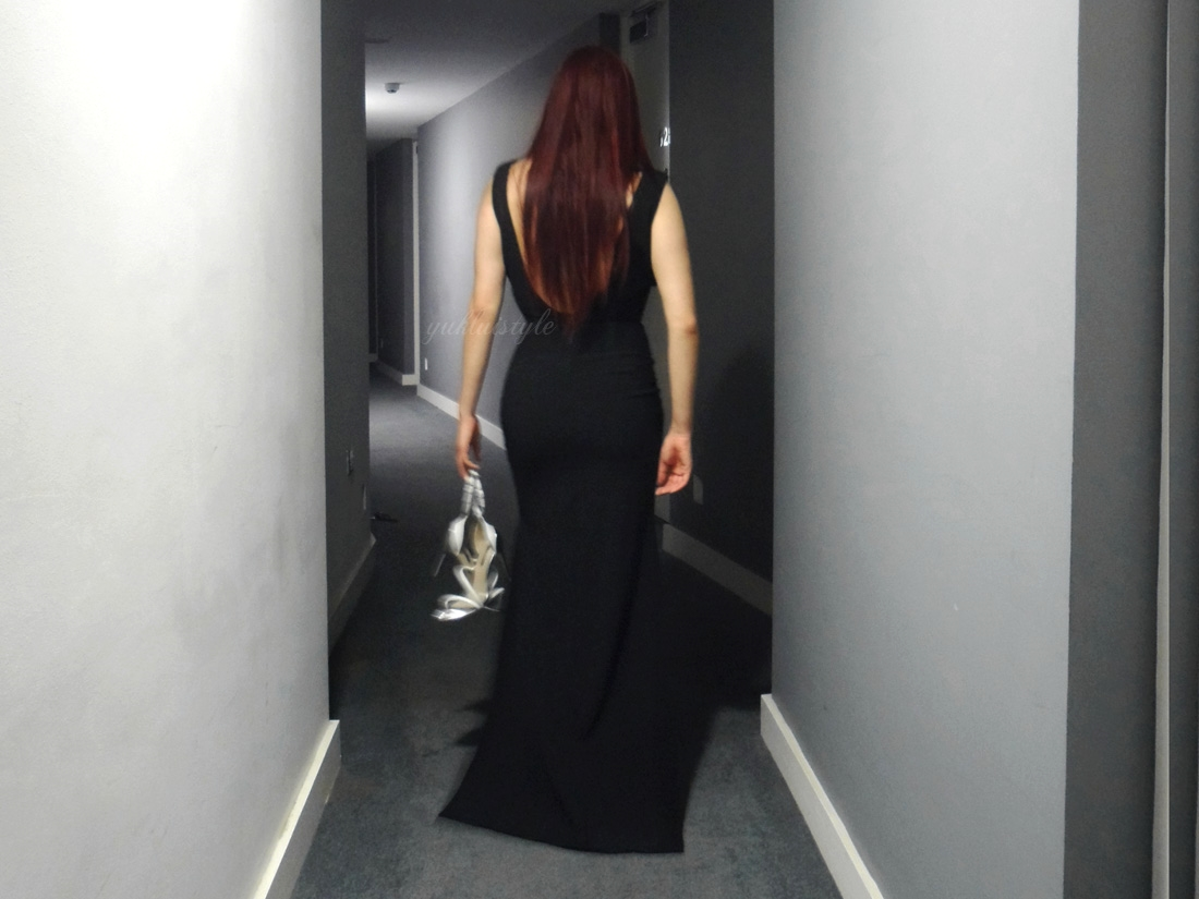 missguided The Low Back dress