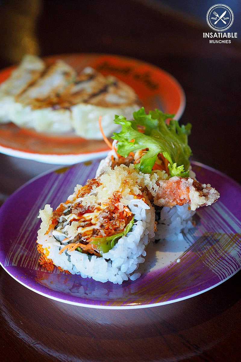 Sydney Food Blog Review of Sushi Train, Neutral Bay: Soft Shell Crab Maki