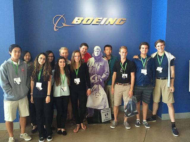 NSLC BUSI visits Boeing