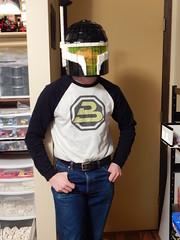 Blacktron Mandalorian Helmet