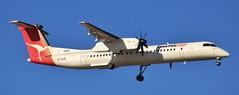 VH-QOB | QantasLink | QLK50D | DPO - MEL | Bombardier Dash 8 Q400 | Melbourne International Airport | (MEL/YMML)