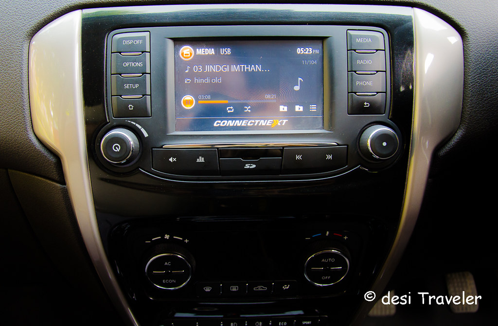 Music system Tata Bolt