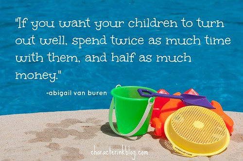 What Our Kids Need the Most: TIME!