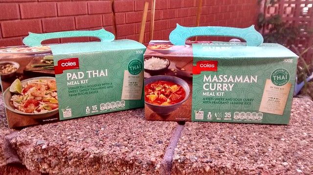 Coles Asian Meal Kits