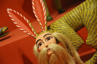 Iberoamericana Exhibit at the Grandes 'Maestros del Popular Arte. Quito, Ecuador.