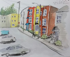 streets of St. John's, Newfoundland