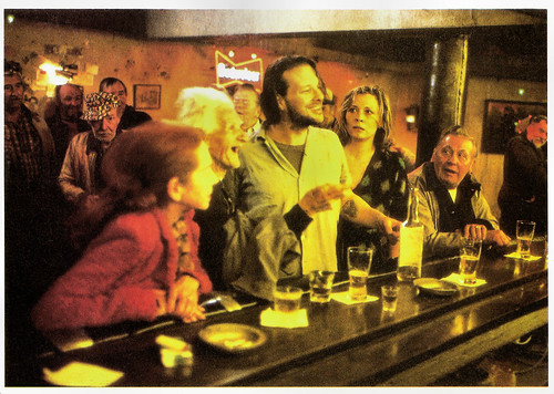 Faye Dunaway and Mickey Rourke in Barfly (1987)