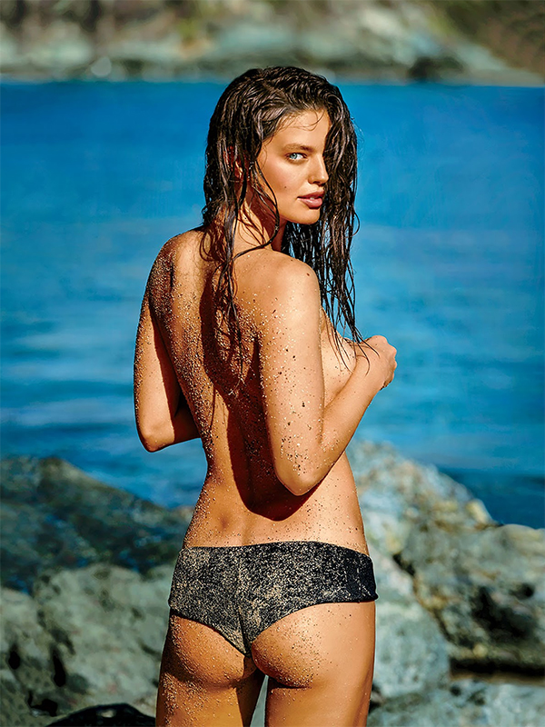 Emily Didonato By Gilles Bensimon - Maxim august 2015