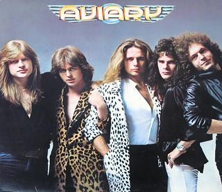 "AVIARY S/T SELF-TITLED PROG ROCK 12"" LP VINYL"