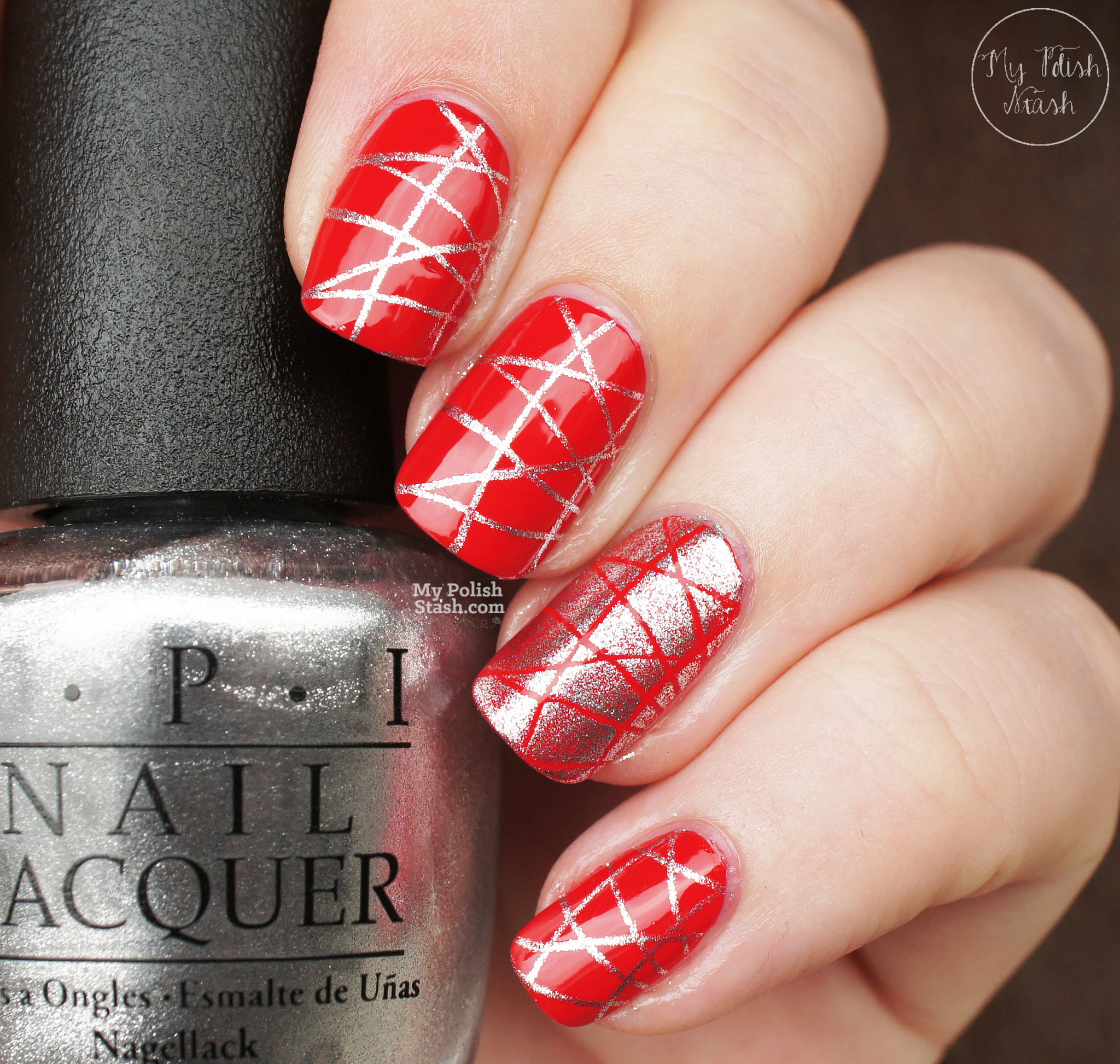OPI-Coca-cola-red-turn-on-the-haute-light-stamping