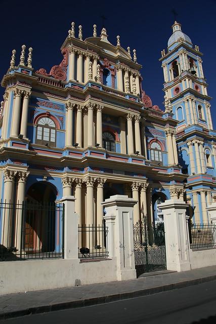 Iglesia la Viña.  Salta, Argentina.