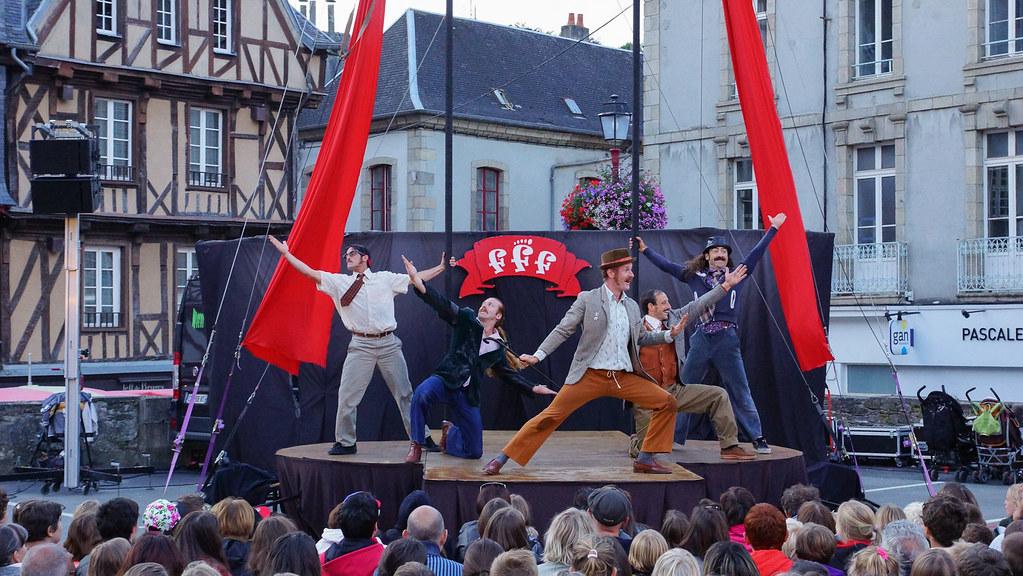 fff - spectacle de rue - Morlaix