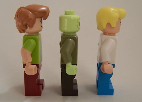 lego scooby Doo minfigures