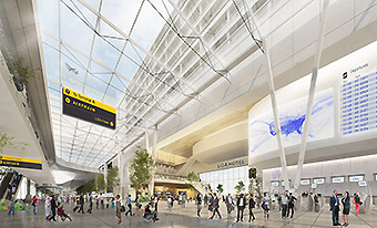 LGA new interior terminal (Gov Cuomo NY)