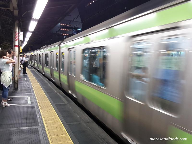 tokyo rush hour train