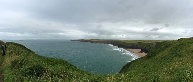 Pembrokeshire Coast Path, Musselwick beach, Marloes
