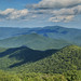 Blue Ridge Mountains, view looking east (Tray Mountain),  from Brasstown Bald, Chattahoochee National Forest, Towns County, Georgia 1 by Alan Cressler