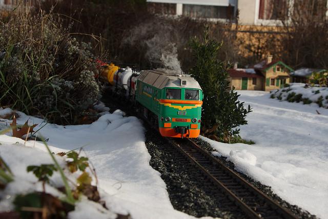 Ludmilla und Taigatrommel im Winter