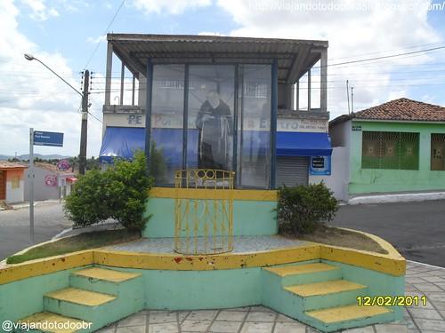 Feira Grande - Imagem em homenagem a Frei Damião