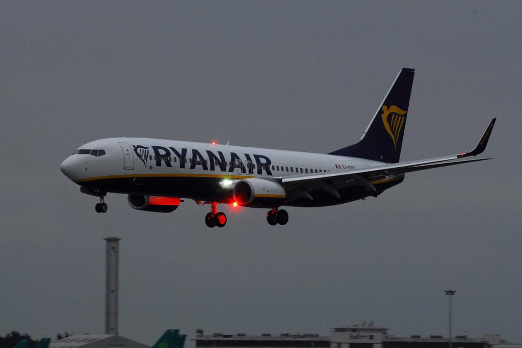 EI-FTK - B738 - Ryanair