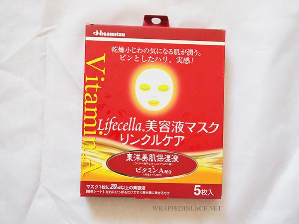 Hisamitsu LIFECELLA Essence Sheet Mask (Lychee) Review