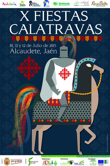 Cartel Fiestas Calatravas 2015