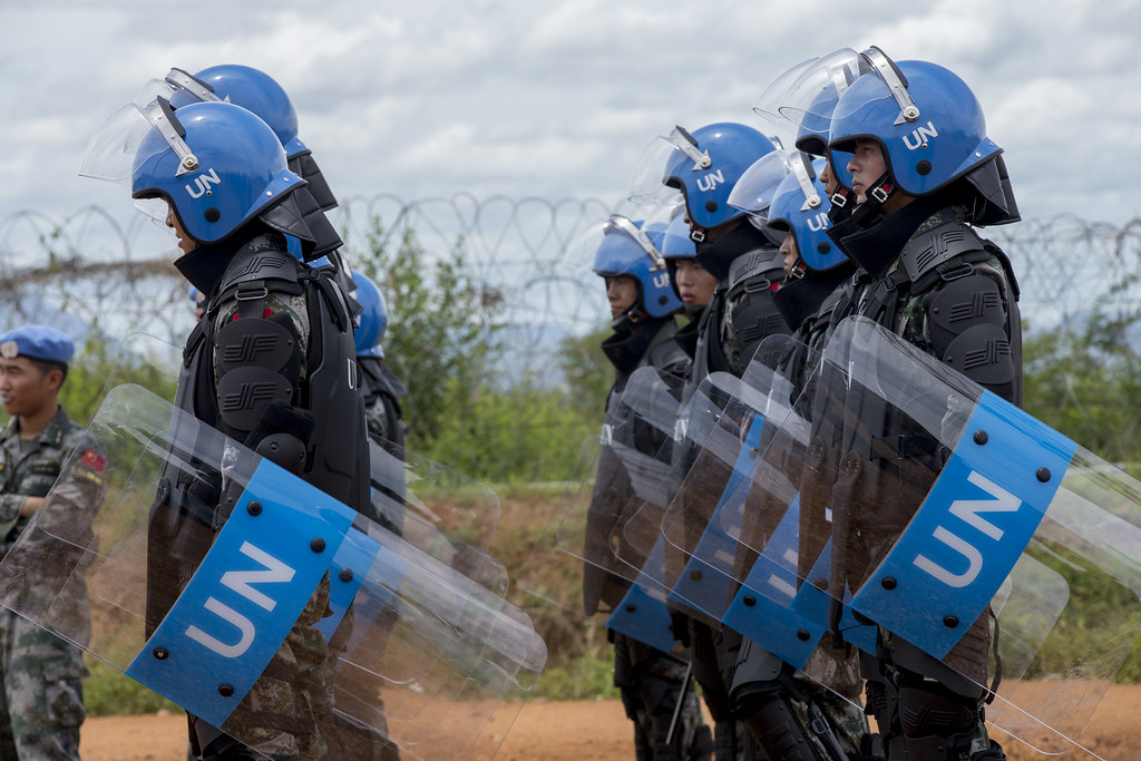 UNMISS Conducts Riot Control Training Exercise, Juba