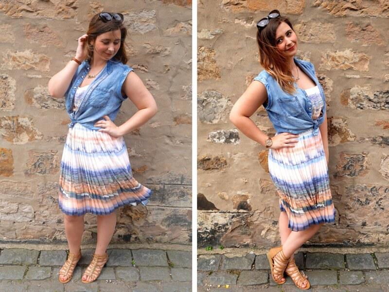 UK fashion blogger shoezone summer sandals