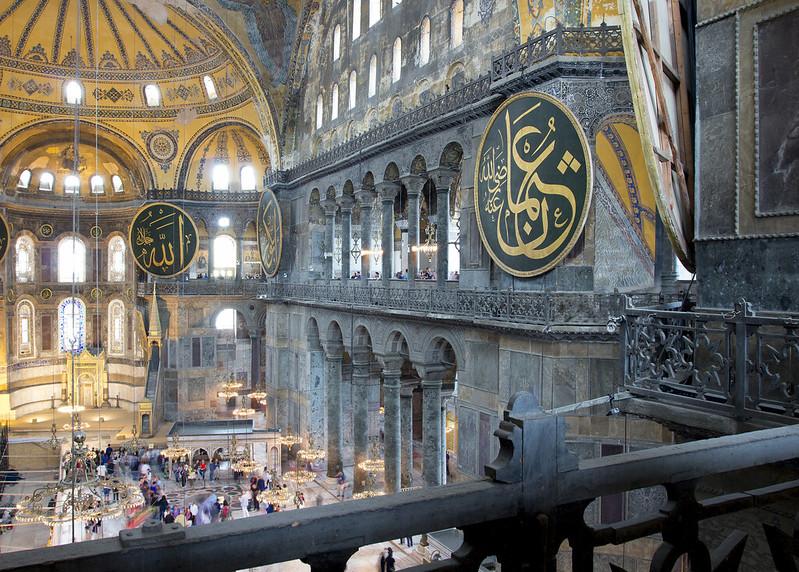 Amazing Hagia Sophia - interior #2- Istanbul, Turkey