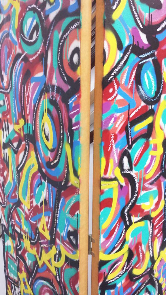 Chicago's Best Abstract Muralists Show at The Frame Shop