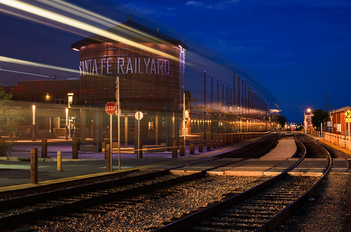 Santa Fe Railyard by Geoff Livingston