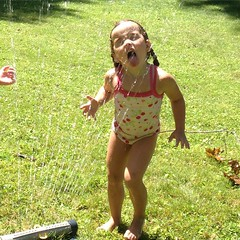 Sprinkler fun !