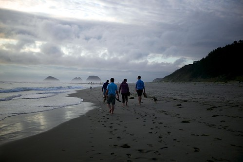 The Royal Explorers Society takes a walk on the beach