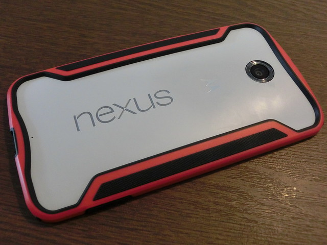 Nexus 6にバンパーを買ってみました