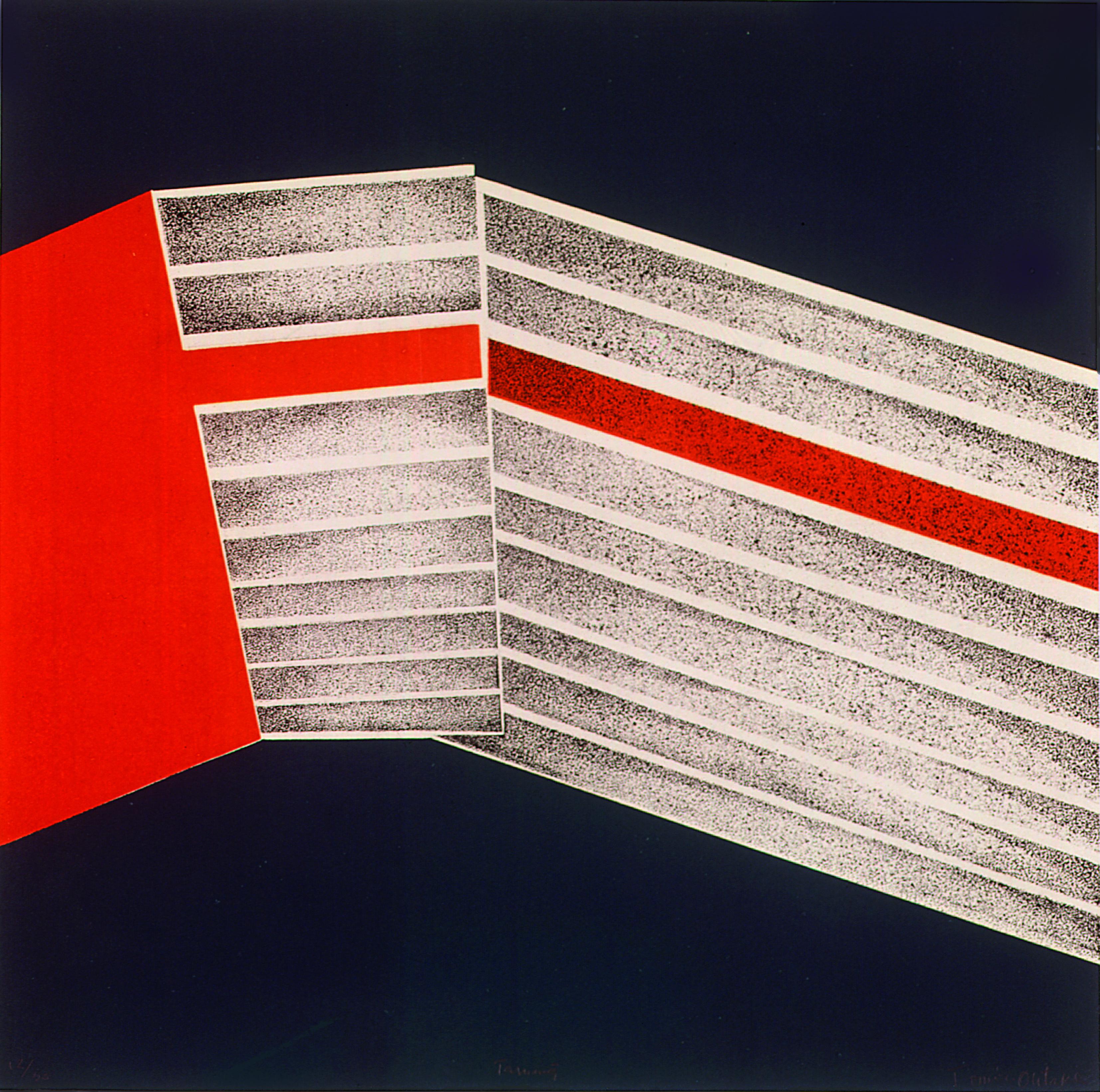 Tarumá Autor: Tomie Ohtake Técnica: Serigrafia (12/30) Dimensão: 50cm x 50cm