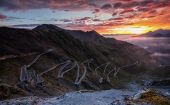 Stelvio Pass Sunrise