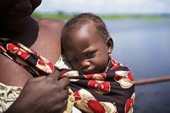 Mother and her baby, Barotseland, Zambia