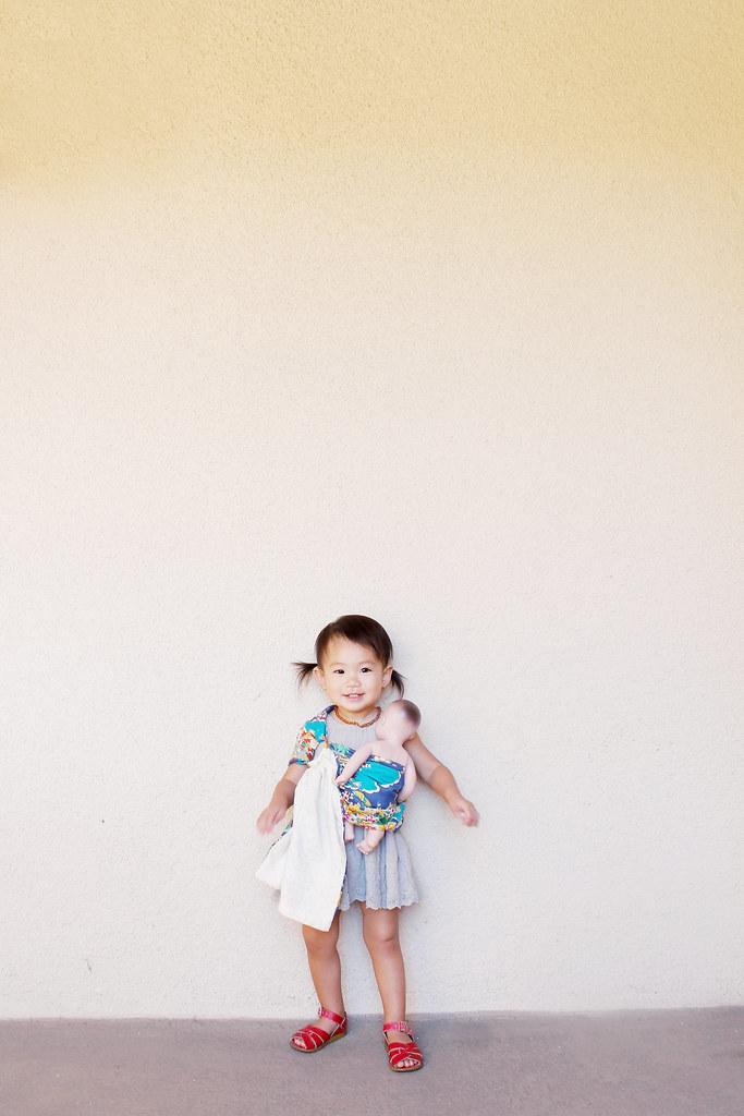 serene's doll sling