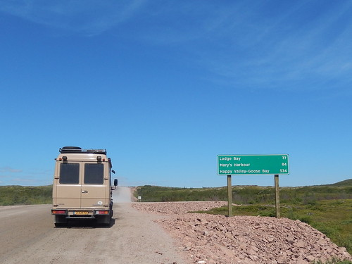 Red Bay - begin Labrador Highway - 2