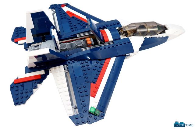 Blue Power Jet vs. Sonic Boom