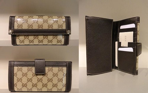 $259 GG Crystal Charmy Wallet